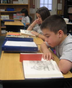 Strickland Christian School student reading