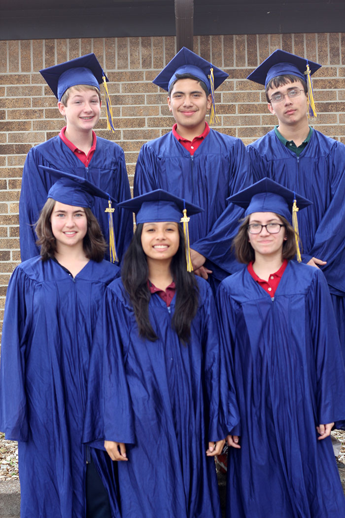 Strickland Christian School graduates