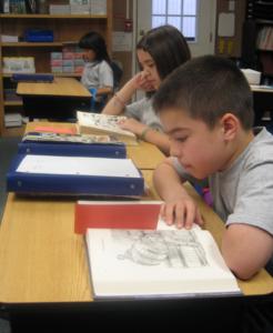 Strickland Christian School student reading